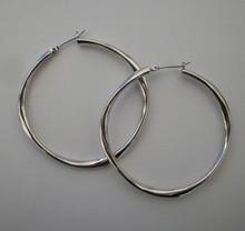 Medium Silver Mimi Hoops