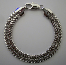 Silver Snake Braid Bracelet