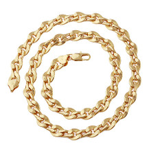 Wavy Dot Link Necklace