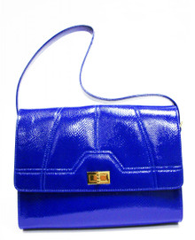 Blue Snake Gia Bag