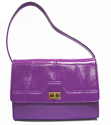 Purple Snake Gia Bag