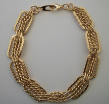 Gold Intrecco Bracelet