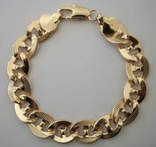 Flat Detailed Curb Bracelet