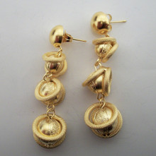 Disc Ball Earring