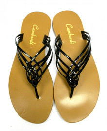 Black Crossover Sandal