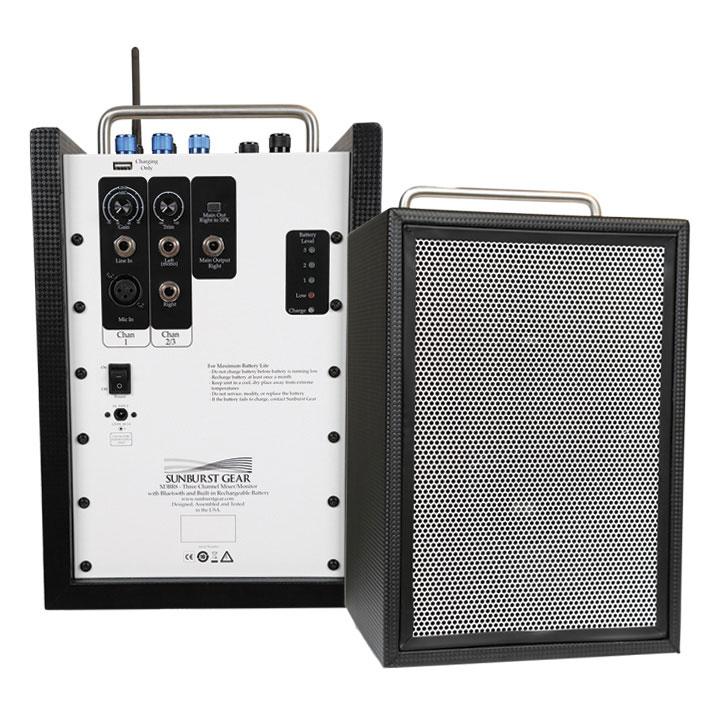 Sunburst Gear M3BR8 Portable All-in-One Bluetooth PA Speaker System