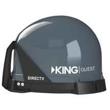 KING Quest VQ4100 Portable Satellite TV Dish for DIRECTV