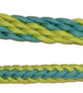 Braided Rein (Sour Apple & Turquoise Ocean)