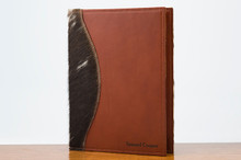 Jr. Padfolio Brown & White HOH with Chestnut