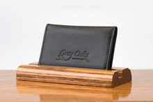 Personal Card Holder Black Bridle