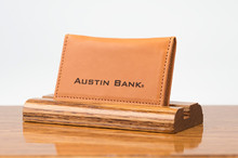 Personal Card Holder Tan Bridle