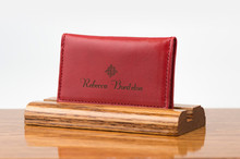 Personal Card Holder Ferrari Red