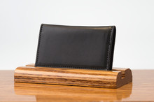 Personal Card Holder Black Calf