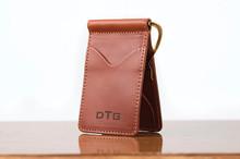 Spring Clip Wallet Chestnut Bridle