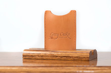 Magnetic Clip Wallet Tan Bridle