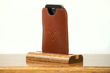 Phone Sleeve Chestnut Bridle