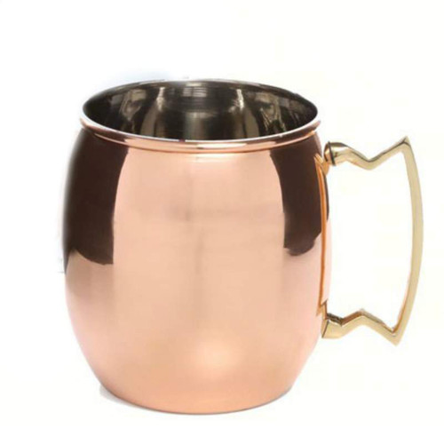 Moscow Mule with Brass Handle