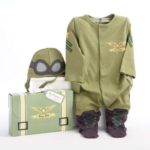 Baby Pilot Two-Piece Layette Set for 0 to 6 Months