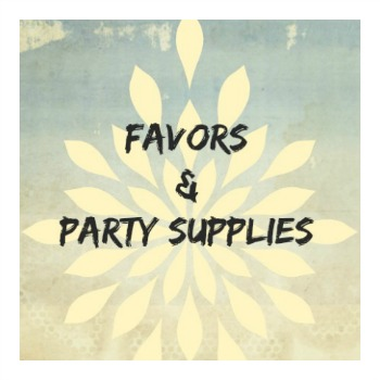 Favors and Party Supplies for All Occasions