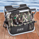 Deluxe Camouflage Sit n' Sip Cooler Seat (Item#GC1102)
