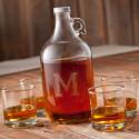 Personalized Whiskey Growler Set(Item#GC1097)