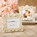 Vintage Ivory Frame with Brushed Gold Leaf Finish - Set of 36