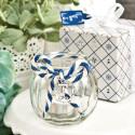 Anchor Nautical Glass Globe Candle Holder - Set of 24