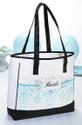 Silkscreen Tote Shoulder Bag for Bride