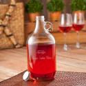 64oz Wine Jug Set (2 Wine Glasses)