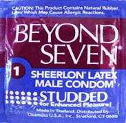 Beyond Seven Studded Condom