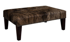 3ft x 2ft Cowhide Footstool FST923