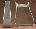 Straight Time Stirrups Jr. Roper Stirrup Burnished Aluminum