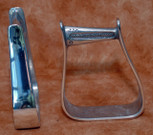 Straight Time Stirrups Barrel Stirrup Polished Aluminum