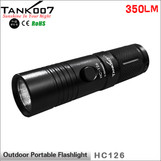 TANK007 HC126 aluminum alloy outdoor flashlight with tripod  5-model powered by CR123/16340 battery