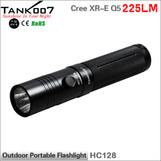 TANK007 HC128 Cree aluminum alloy flashlight powered by CR123/16340/18650