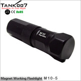 TANK007 M10 magnetic  LED flashlight Cree Q5 led torch Five modes