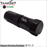 TANK007 M10 magnetic  LED flashlight Cree Q5 led torch Five modes