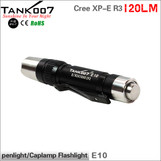 3-mode Cree R3 penlight 120LM led flashlight AAA battery led torchTANK007 E10