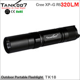 TANK007 TK18 USA Cree R5 led flashlight flashlights 5 working modes 320LM led torch torches
