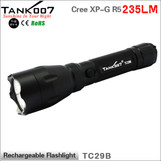 TANK007 TC29B USA Cree XR-E Q5 led flashlight 5-mode high power led torch torches 235 lumens
