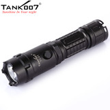 TANK007 rechargeable led flashlight portable high power flashlight torch self defensive led torch TC01