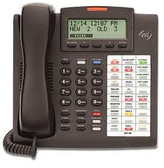 ESI 48 Button Feature Telephone,  Charcoal