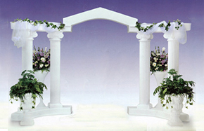 Wedding Colonnades