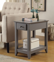 Astonishing Side Table, Gray