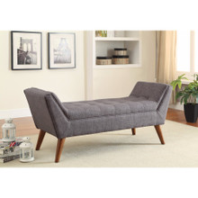 Practically Designed Bench, Gray