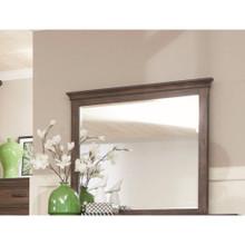 Landscape Mirror, Oak Brown