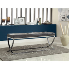 Stylishly Compelling Bench, Black
