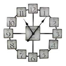 Classic And Uniquely Designed Metal Wall Clock