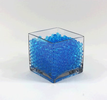 Blue Jelly Decor, Gel Water Beads - 1 Pound Bag