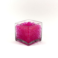 Pink Jelly Decor, Gel Water Beads - 1 Pound Bag